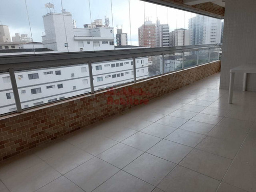 Imagem 1 de 26 de Apartamento Com 3 Dorms, Guilhermina, Praia Grande - R$ 750 Mil, Cod: 663116 - V663116
