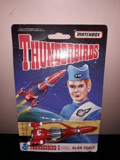 Nave - Thunderbirds 3 - Alan Tracy - Matchbox - En Blister
