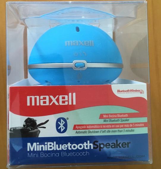 Caixa De Som Bluetooth Maxell Mxsb-bt01 Rosa Ou Azul Lacrado
