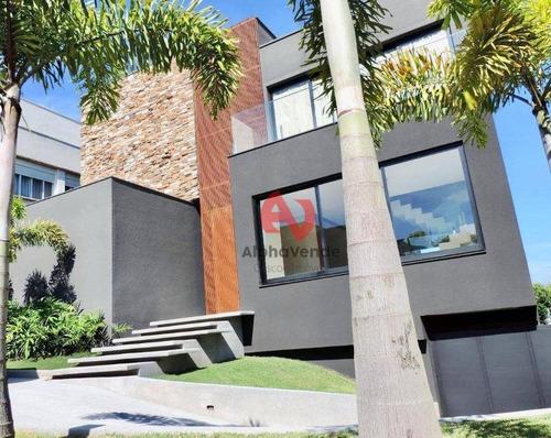 Imagem 1 de 30 de Tamboré 10 - Casa Com 4 Suítes À Venda, 525 M² - Alphaville - Santana De Parnaíba/sp - Ca6187