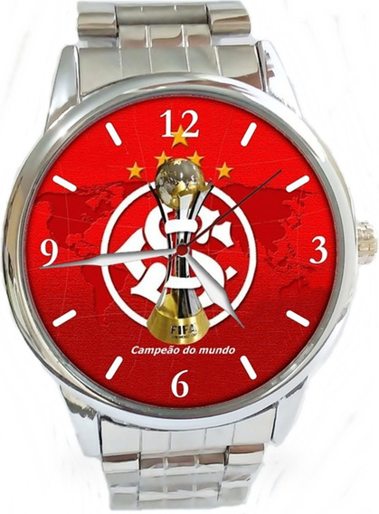 Relógio De Pulso Esportivo Torcedor Inter Personalizado Ac
