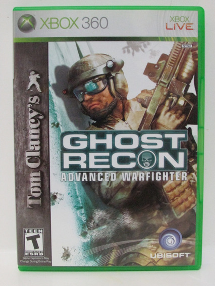 Ghost Recon Advanced Warfighter - Xbox 360 Original Completo