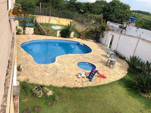 Chácara Com 5 Dormitórios À Venda, 1050 M² Por R$ 650.000 - Chácaras Guanabara - Guararema/são Paulo - Ch0001