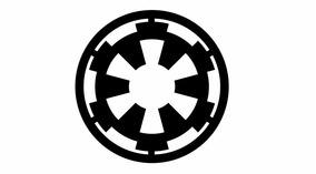 Adesivo Império Galático Star Wars 12cm X 12cm Frete Grátis
