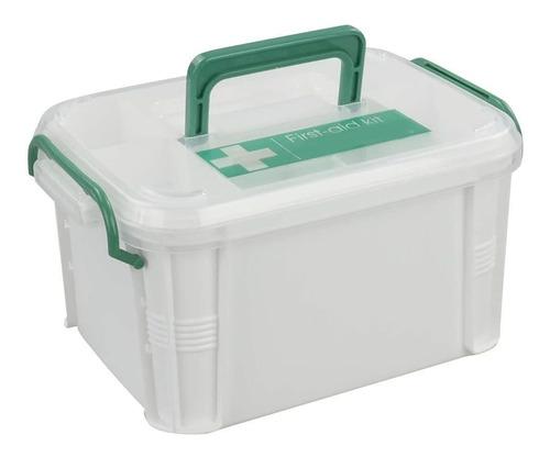 Vababa - Caja De Primeros Auxilios (plastico, Con Tapa Y As
