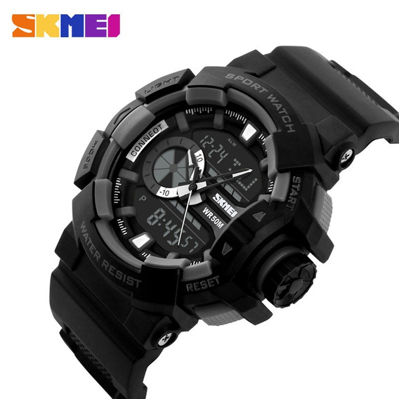 Relógio Masculino Skmei Anadigi 1117 Prova D