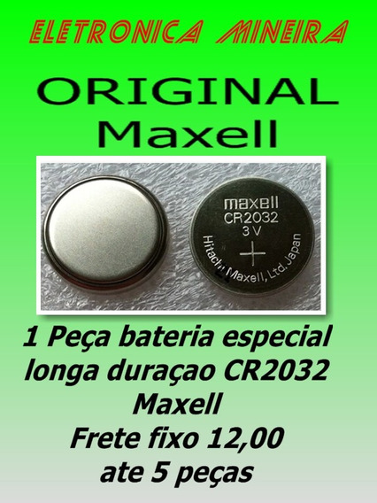 Bateria Especial Placa Mãe Cr2032 Maxell