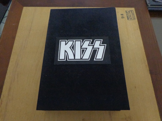 Kiss - 05 Cds The Box Set- Bible Edition - Book & Mechandise