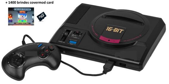 Cartão Microsd P/ Novo Mega Drive Covermod +1400 Brindes