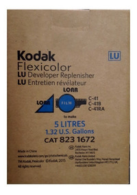 Kit 5l De Químicos Kodak C/ Starter Para Revelação De Filmes