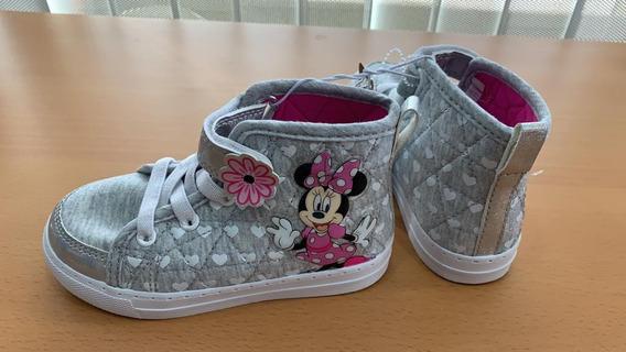 Botines Minnie Mouse Tallas 26 Y 27 Original