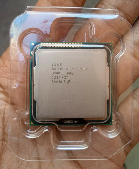 Processador Intel I5 2400 Estado De Novo + Pasta Térmica
