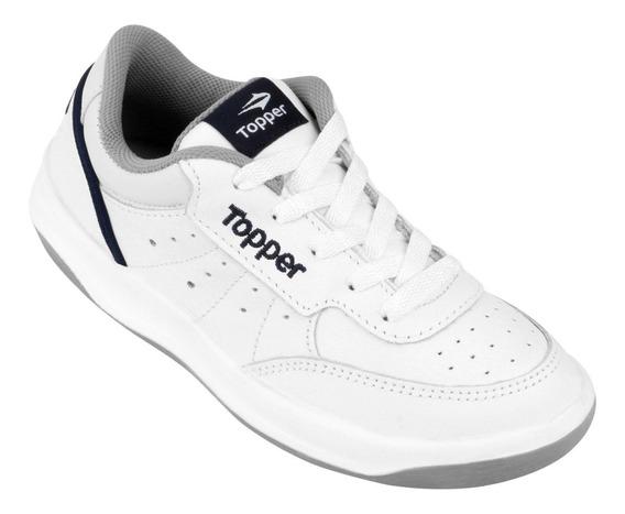 Zapatilla Topper X Forcer Bco/gris/azul