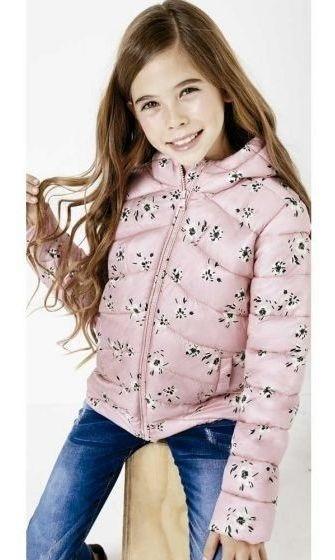 Chamarra Casual Pink Niña Hb2234
