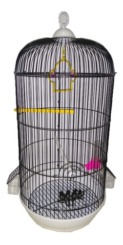 Imagen 1 de 6 de Jaula Para Aves Pajaros  42x70 Cm Varios Colores