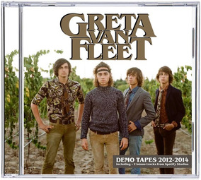 Cd Greta Van Fleet - Demos 2012 - 2014 + Bonus