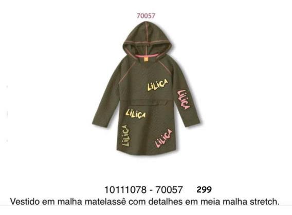 Vestido Infantil Lilica Ripilica 10111078