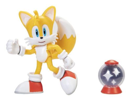 Imagem 1 de 4 de Boneco Jakks Pacific Sega Sonic The Hedgehog 4'' - Tails