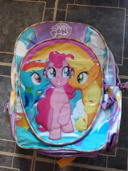 Mochila Reforzada Grande. My Little Pony Original