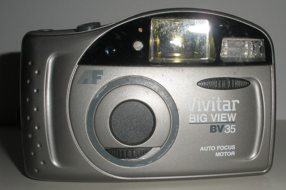 Antiga Câmera Fotográfica Vivitar Bv 35