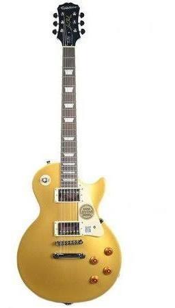 Guitarra EpiPhone Lp Standard-metallic Gold