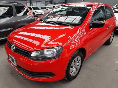 Volkswagen Gol Trend 1.6 3ptas Pack1 2015 Rojo Pga