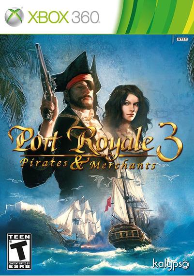 Port Royale 3: Pirates & And Merchants - Xbox 360 - Novo