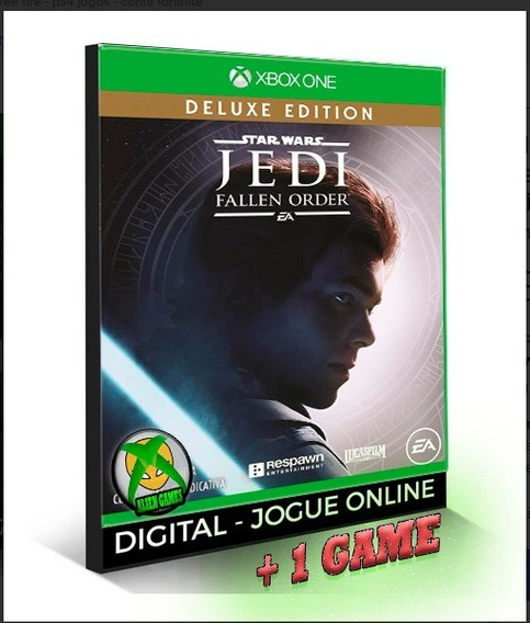 Star Wars Jedi: Fallen Order Deluxe X Box One Midia Digital