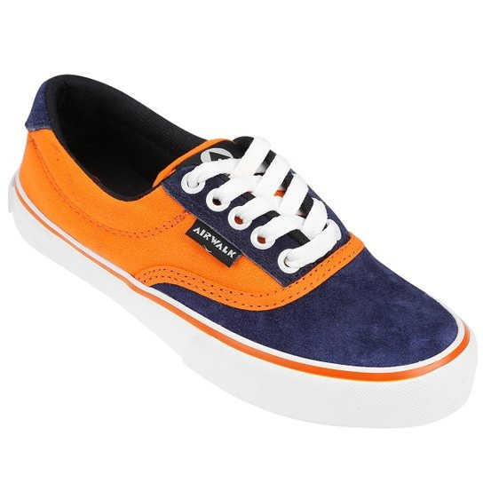 Zapatillas Airwalk (azul/naranja)
