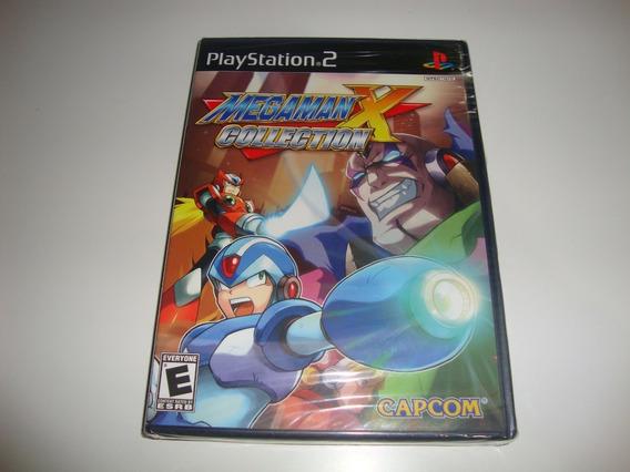 Megaman X Collection Americano Lacrado Para Ps2