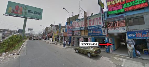 Alquiler De Local Comercial En Ate Vitarte (carr. Central)
