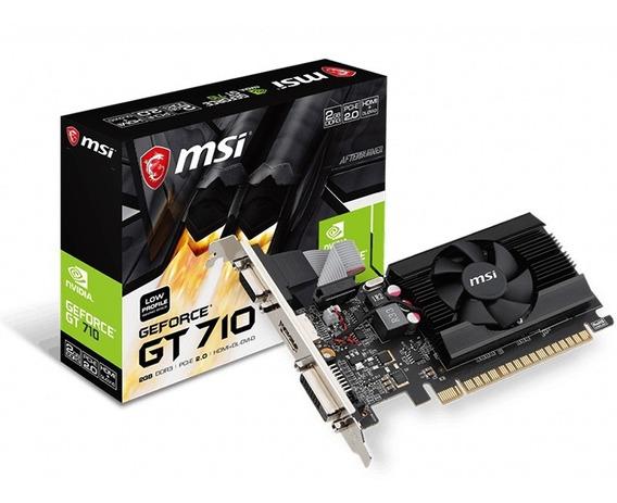 Geforce Msi Gt 710 2gb Ddr3 64bit 1600mhz - 912-v809-2024