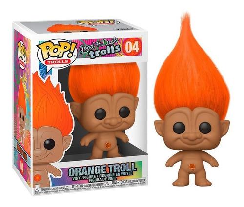 Imagen 1 de 1 de Funko Pop - Trolls - Orange Troll Naranja #04