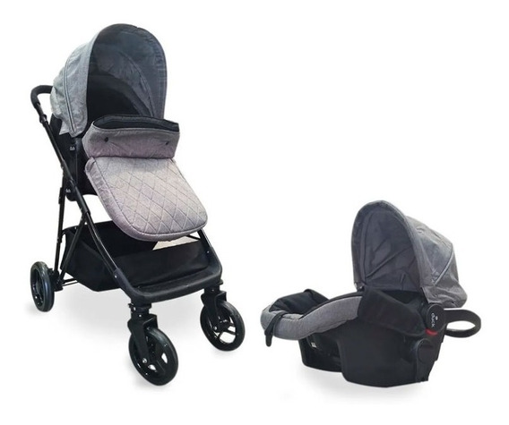 Coche Travel System Pumba 105319 Ts Gris