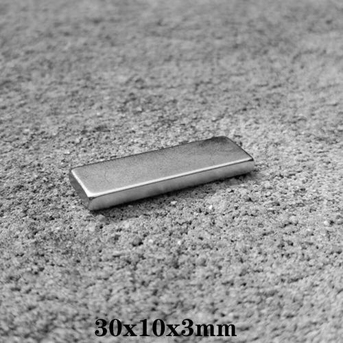 Iman Neodimio 30x10x3mm N52 Super Furte Envios A Todo Chile