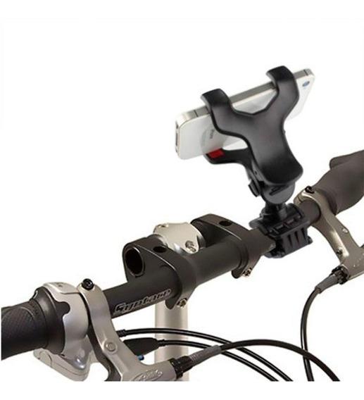 Suporte De Celular Para Bicicleta E Moto Bike Pelo Guidao