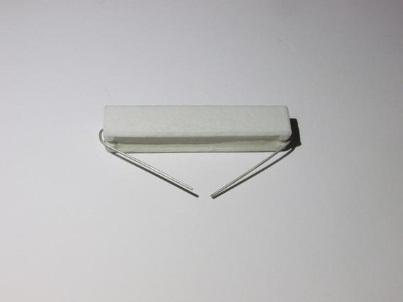 2x 106605 - Resistor 20w 4.7 Ohms Porcelana