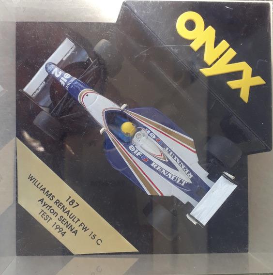 Miniatura Onix 1/24 Ayrton Senna Williams Renault Fw-15 - C