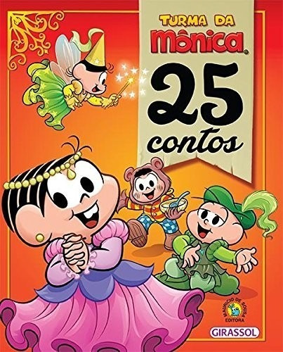 Turma Da Monica - 25 Contos (capa Dura)