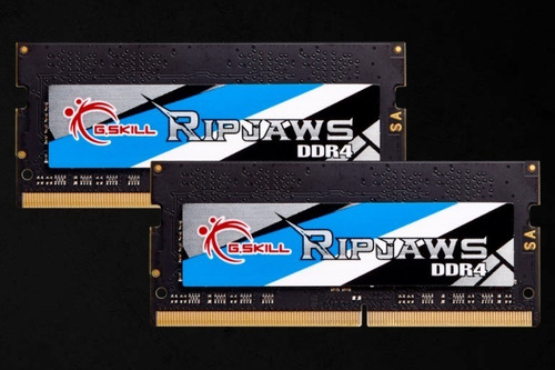 Memória Ram Ddr4 G.skill Ripjaws 16gb (2x8gb) Notebook Cl16