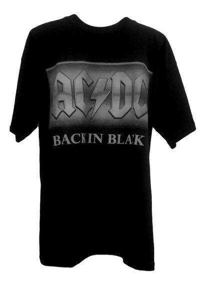 Playera Ac Dc Back In Black