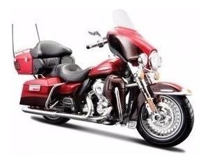 Moto Harley Davidson Flhtk Electra Coleccion Esc1:12 Metal