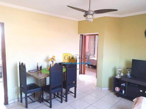 Apartamento Com 2 Dormitórios À Venda, 66 M² Por R$ 217.900,00 - Macuco - Santos/sp - Ap15446