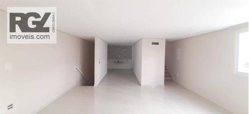 Village Com 3 Dormitórios À Venda, 190 M² Por R$ 950.000,00 - Campo Grande - Santos/sp - Vl0005
