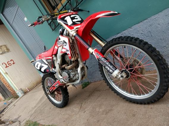 Moto Cross Honda Crf 250r Modelo 2009 4 Tiempos. Nacional