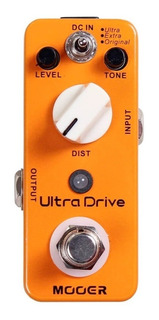 Pedal Mooer Ultra Drive Distorsion (ver Video)