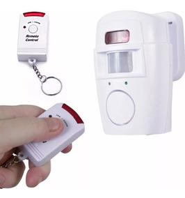 Kit Alarme Sem Fio Residencial 2 Controle Remoto Com Nf