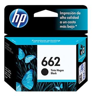 Cartucho Tinta Hp 662 Negro Original Nuevo