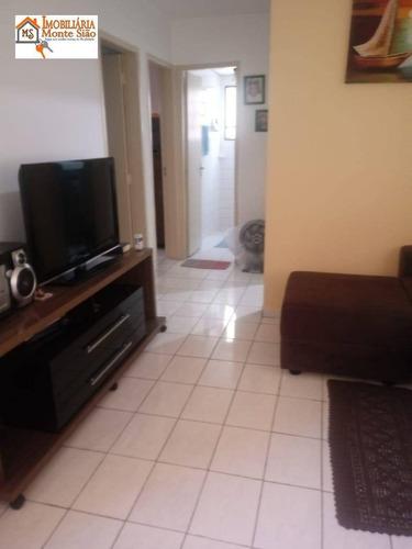 Imagem 1 de 8 de Apartamento Com 2 Dormitórios À Venda, 51 M² Por R$ 189.000,00 - Parque Uirapuru - Guarulhos/sp - Ap1779