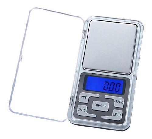 Mini Balanza Digital De Precision 500g / 0.1g Lcd C/ Luz F
